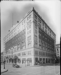 Henry Clay Hotel, Louisville, Kentucky, 1935.