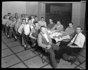 Southern Bell class in the Henry Clay basement, 1946.
