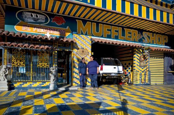 El Pedorrero Muffler Shop