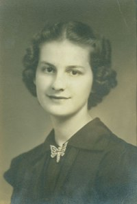 Dr. Lilialyce Akers, ca. mid 1950's while teaching at Midway Junior College
