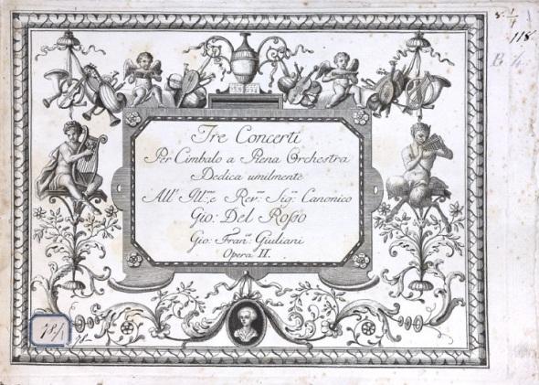 Guiliani's harpsichord concerto