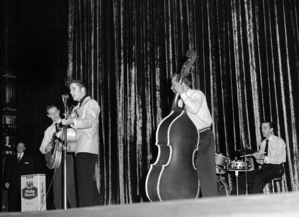 Dec. 8, 1955, Rialto Theatre, (Elvis Presley) by Lin Caufield