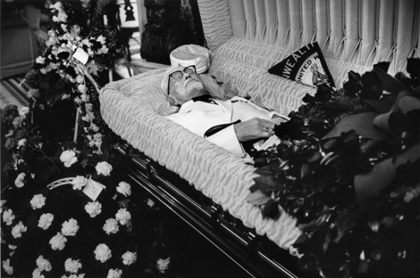 The Funeral of Colonel Sanders, 1980, by John Ranard
