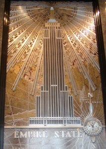 interior shot of Empire State Building