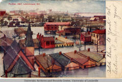 Postcard of 1907 Flood