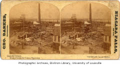 Tobacco Warehouse after 1890 Tornado
