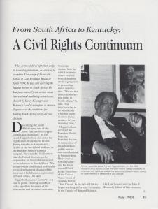 An example page from the Winter 1994-1995 issue of The Brandeis Brief.