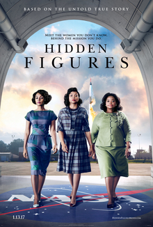 poster for Hidden Figures