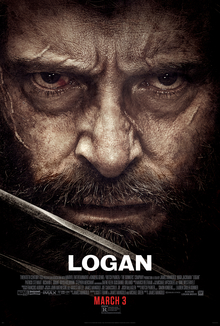 movie poster for Logan