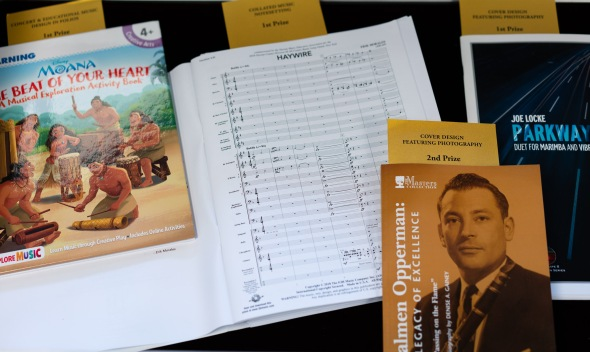 Music Library exhibits 2018 Paul Revere Awards for Graphic