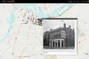 Lost Louisville map