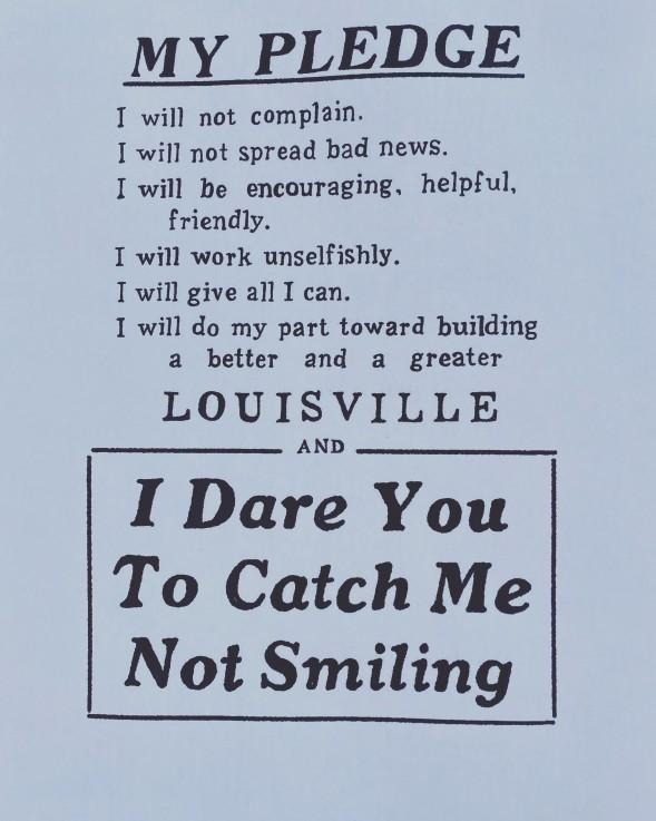 Poster seen in Germantown recently.